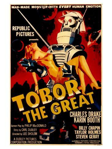 Tobor the Great, 1954 Art Print