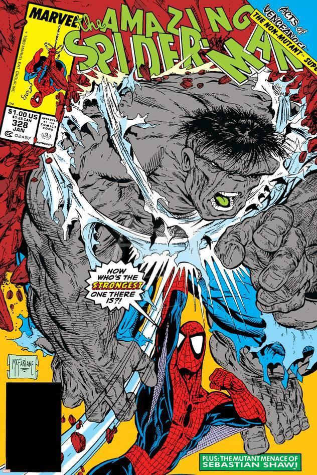 QUE COMIC ESTAS LEYENDO? - Página 6 Todd-mcfarlane-amazing-spider-man-no-328-cover-hulk-and-spider-man-crouching_a-G-13755260-13198931