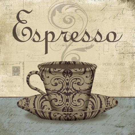 Espresso Taidevedos