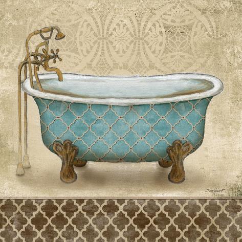 Lattice Bath II Premium Giclee Print