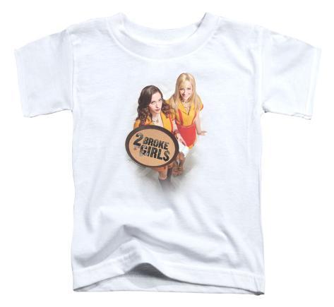 Toddler: 2 Broke Girls - Tips Really? T-Shirt