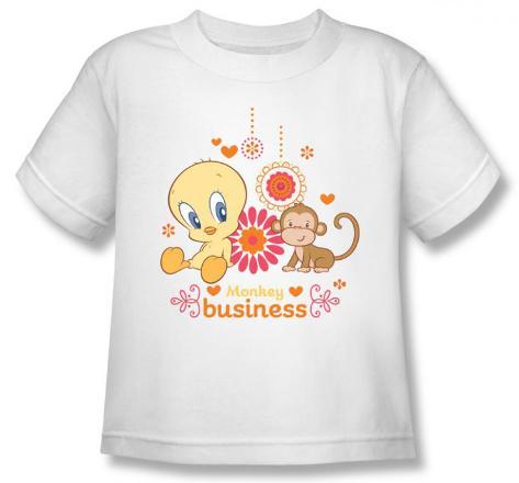 Toddler: Baby Tweety - Monkey Business T-Shirt