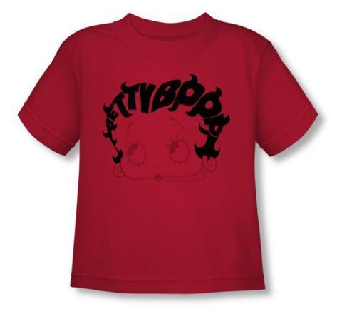 Toddler: Betty Boop - Word Hair T-Shirt