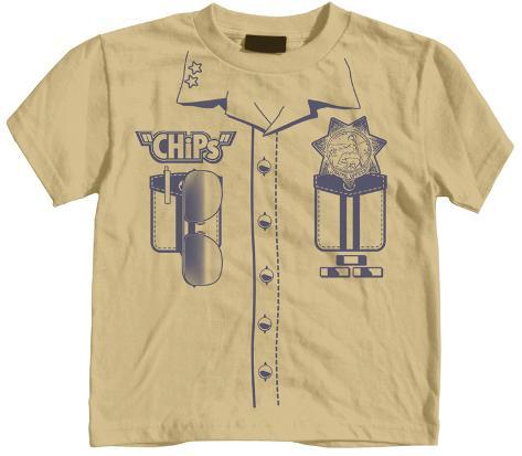 Toddler: CHiPs - Uniform Simple T-Shirt