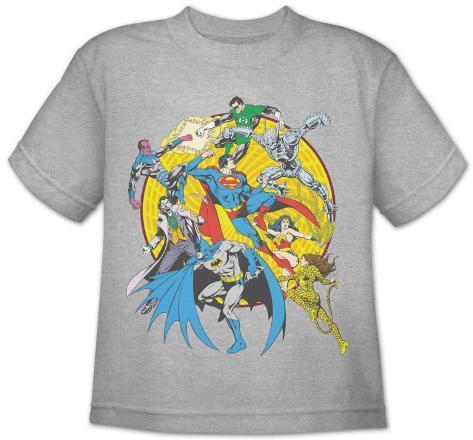 Toddler: DC Comics - Spin Circle Fight T-Shirt