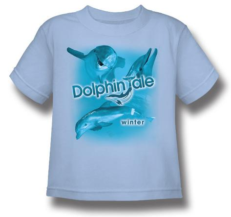 Toddler: Dophin Tale - Winter Collage T-Shirt