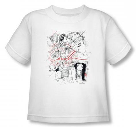 Toddler: Helmet Girls - Mechanical T-Shirt
