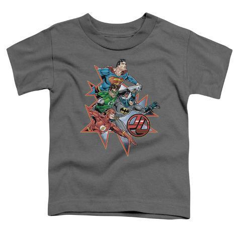 Toddler: Justic League America - Starburst Baby T-Shirt