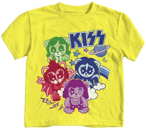 Toddler: Kiss - Glam Bears T-Shirt