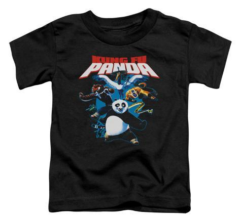 Toddler: Kung Fu Panda - Kung Fu Group Baby T-Shirt