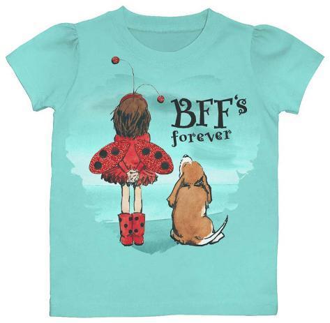 Toddler: Ladybug Girl - BFF's T-Shirt