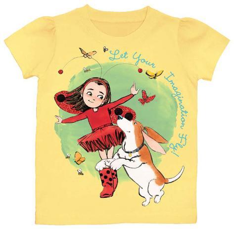 Toddler: Ladybug Girl - Imagination T-Shirt