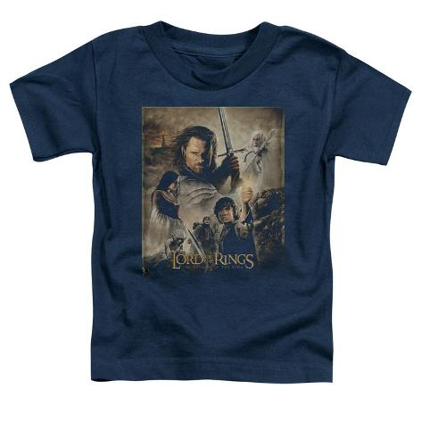Toddler: Lord Of The Rings - Return of the King Poster Baby T-Shirt