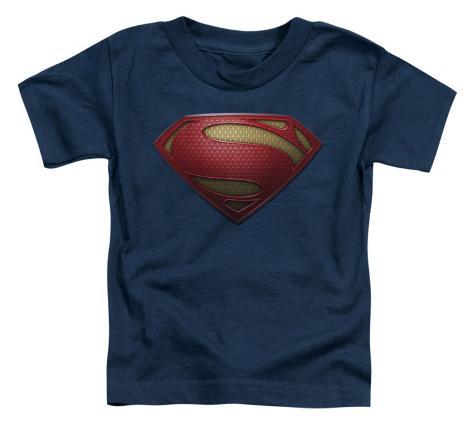 Toddler: Man Of Steel - MoS Shield Baby T-Shirt