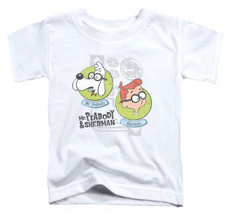 Toddler: Mr Peabody & Sherman - Gadgets Baby T-Shirt