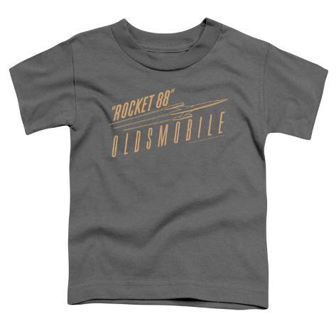 toddler oldsmobile retro rocket 88 logo tshirts