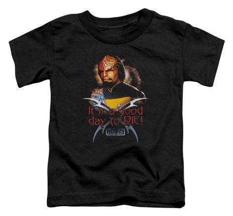 Toddler: Star Trek - Good Day to Die Baby T-Shirt