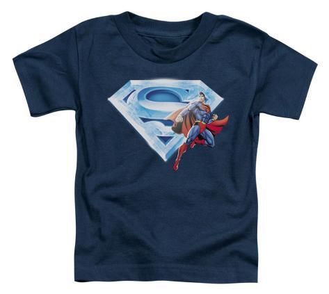 Toddler: Superman - Superman & Crystal Logo Baby T-Shirt