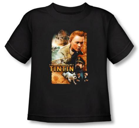 Toddler: The Adventures of TinTin - Adventure Poster T-Shirt