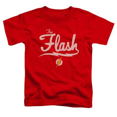 Toddler The Flash Lightning Script Logo T Shirts Allposters Ca