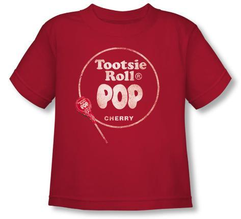 Toddler: Tootsie Roll Pop - Logo T-Shirt