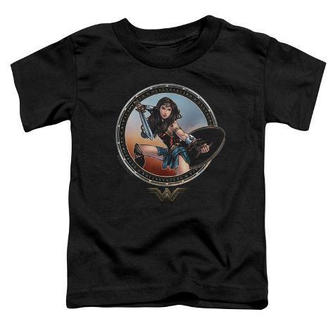Toddler: Wonder Woman Movie - Battle Pose Baby T-Shirt