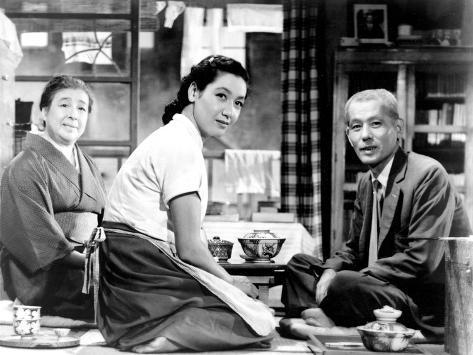 Tokyo Story, (aka Tokyo Monogatari), Chieko Higashiyama, Setsuko Hara, Chishu Ryu, 1953 Photo