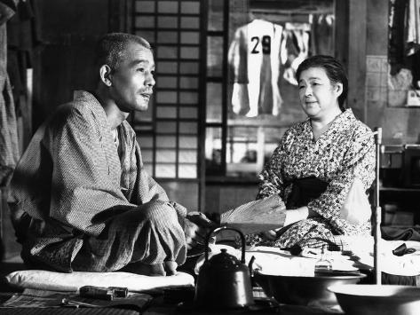 Tokyo Story, (AKA Tokyo Monogatari), Chishu Ryu, Chieko Higashiyama, 1953 Photo