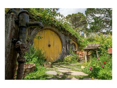 Tolkien Village New Zealand Art Print