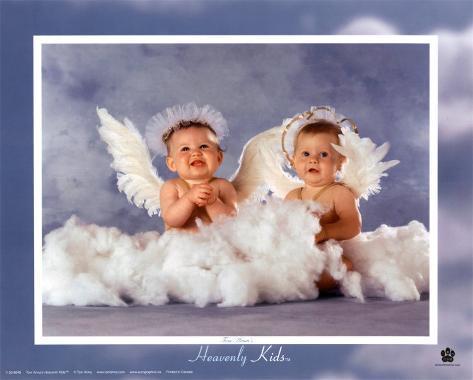 Bebés Divinos 2 ángeles Pósters Por Tom Arma En Allposterses