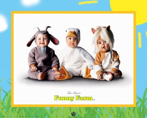 Funny Farm II Art Print