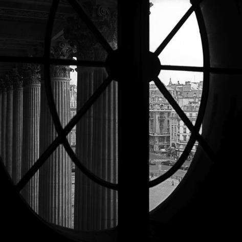 From a Window of the Louvre Art Print
