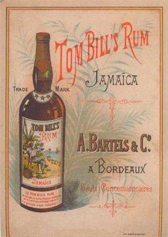Tom Bill's Rum Art Print