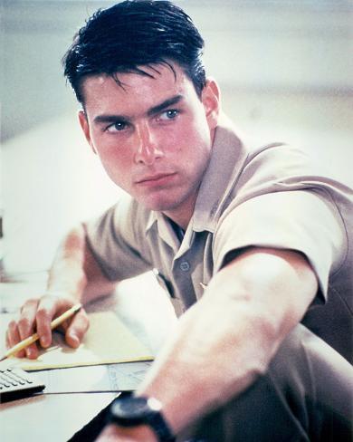 Tom Cruise, Top Gun (1986) Photo
