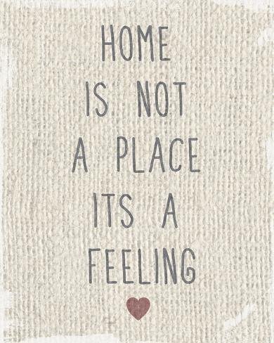 feels like home p sters por tom frazier en. Black Bedroom Furniture Sets. Home Design Ideas