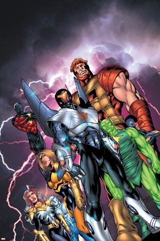 New Thunderbolts No.1 Cover: Atlas Poster