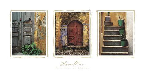 Memories of Rhodes Art Print
