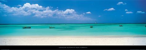 Palm Beach, Aruba, Caribbean Art Print