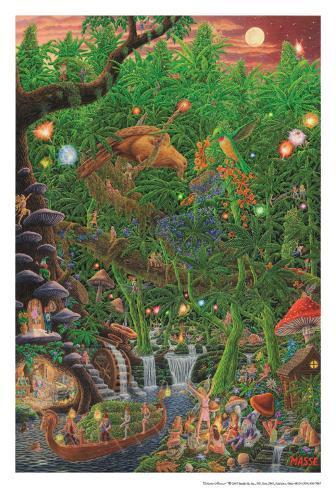 Celestial Harvest Poster