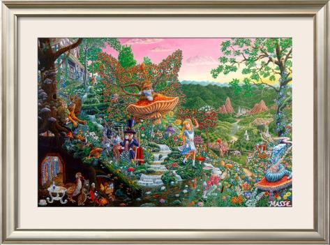 Wonderland Framed Poster