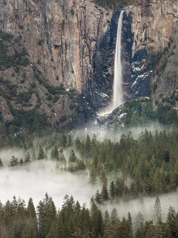 Bridal Falls, Yosemite, California, USA Photographic Print