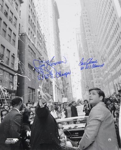 Tom Seaver & Jerry Koosman NY Mets