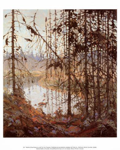Northern River Art Print