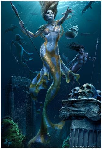 Mermaid Hunt Poster