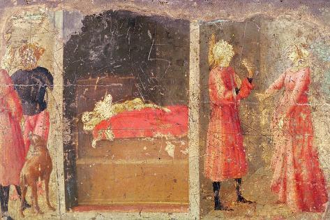 Story of St. Julian the Hospitaller Giclee Print