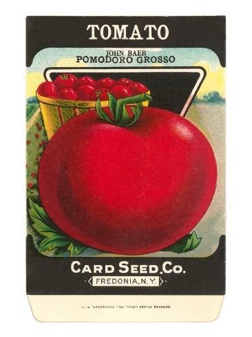 Tomato Seed Packet Taidevedos