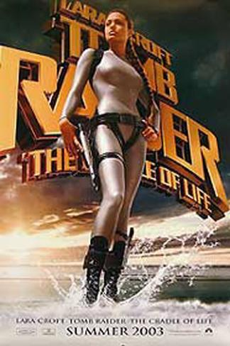 Tomb Raider: The Cradle Of Life Double-sided poster