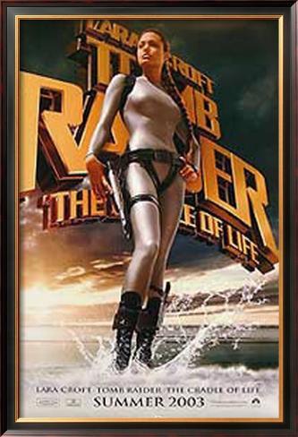 Tomb Raider: The Cradle Of Life Impressão artística emoldurada