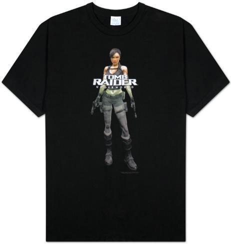 Tomb Raider - Underworld - Cover T-Shirt