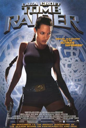 Tomb Raider Poster originale